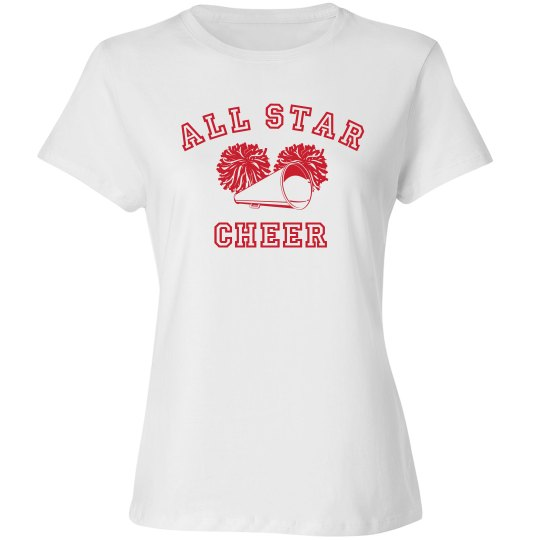 All Star Cheer Tee