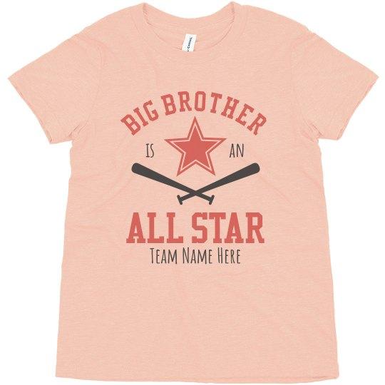 All Star Sister Baseball Tee