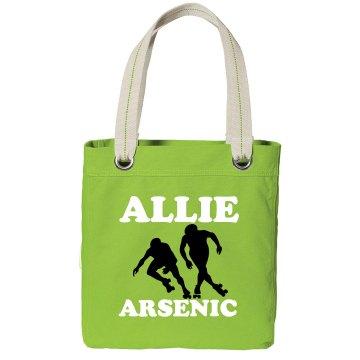 Allie Arsenic Derby Tote