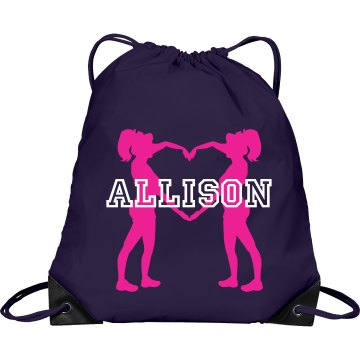 Allison cheer bag