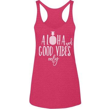 Aloha & Good Vibes Tank