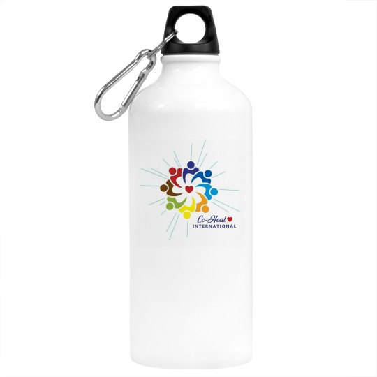 "Aluminum Water Bottle ""There's a Healer in me"""
