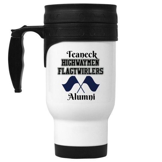 Alumni White Travel Mug