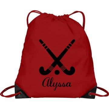 Alyssa. Field Hockey