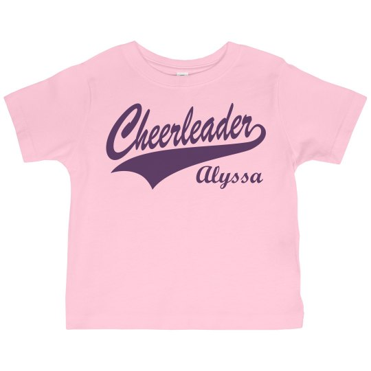 Alyssa's Cheer Fan Design