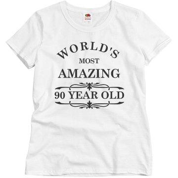 Amazing 90 year old