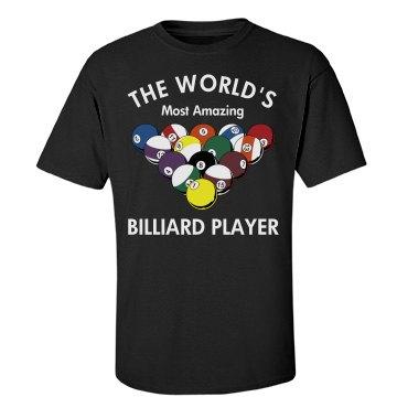 Amazing Billiard Player
