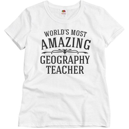 Amazing Geography Teacher