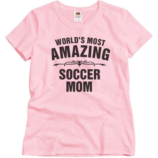 Amazing Soccer Mom
