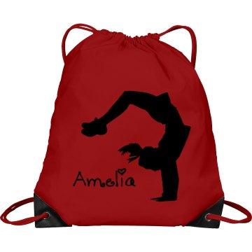 Amelia cheerleader bag