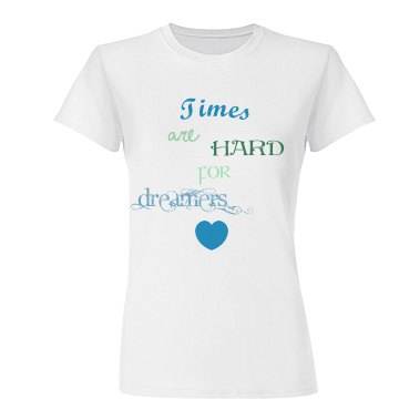 Amelie 'Times are Hard For Dreamers' design