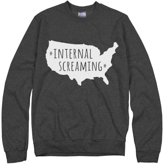 America Is Screaming Internally