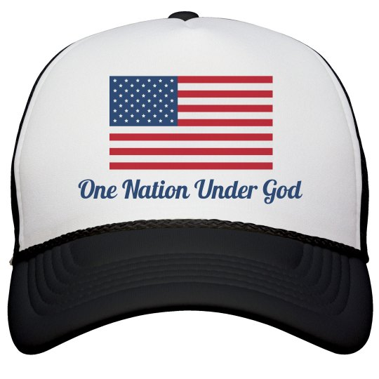 America One Nation Under God Hat
