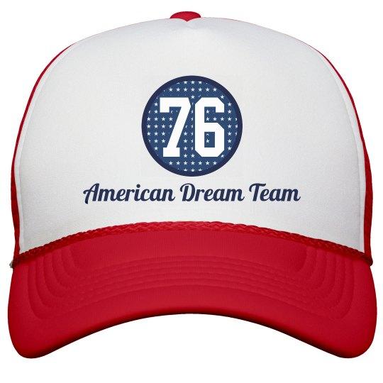 American Dream Team USA Hats