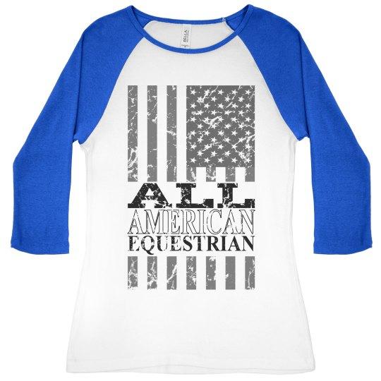 American Equestrian Tee