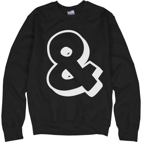 Ampersand Sweatshirt