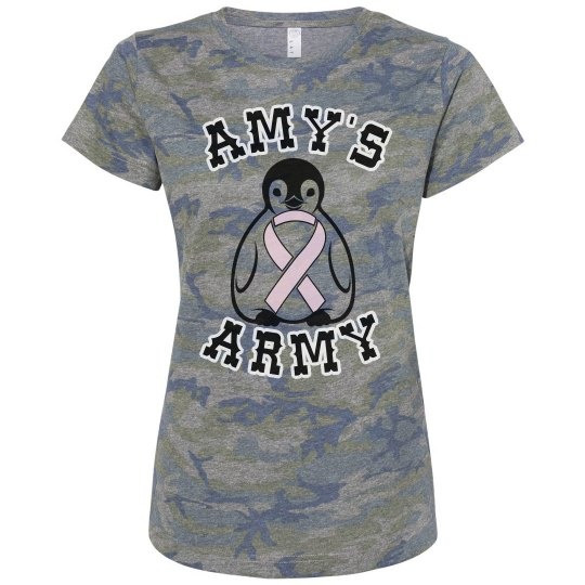 Amy's army t shirt