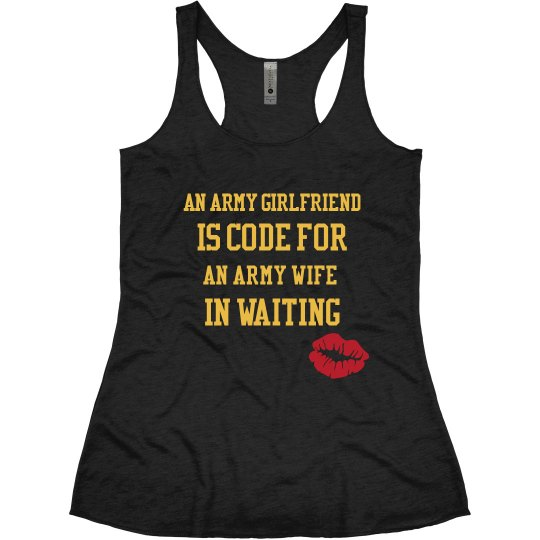 An army girlfriend