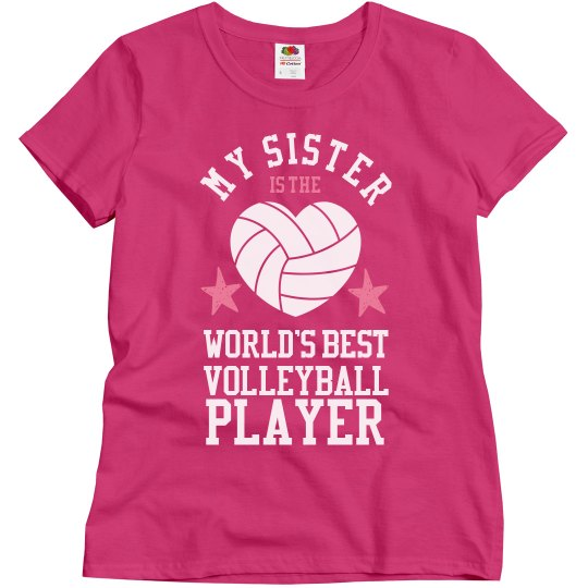 An Awesome Volleyball Sister