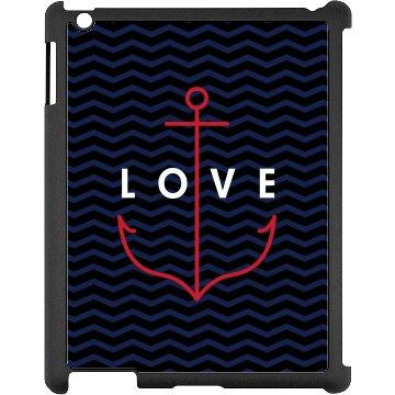 Anchor Love iPad Case