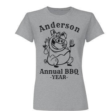 Anderson Annual BBQ T