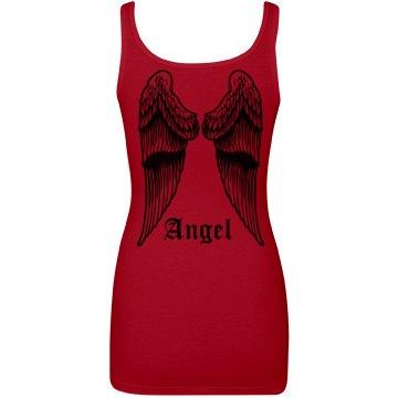 Angel Wing Back Tank