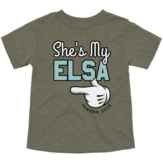 Anna & Elsa Sister BFF Shirts