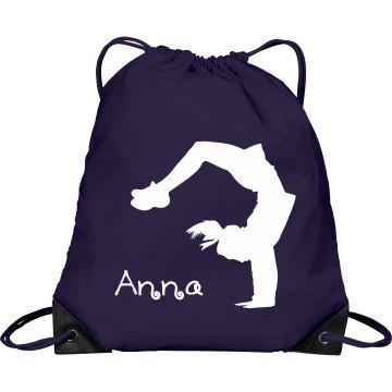 Anna cheerleader bag