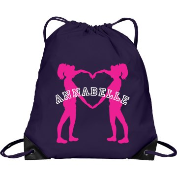 Annabelle cheer bag