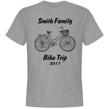 Annual family bike trip