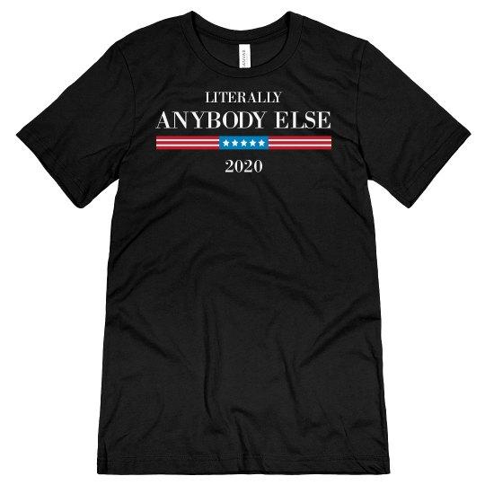 Anti-Trump Democrat Anybody Else 20