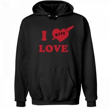 Anti-Valentines Hate Love