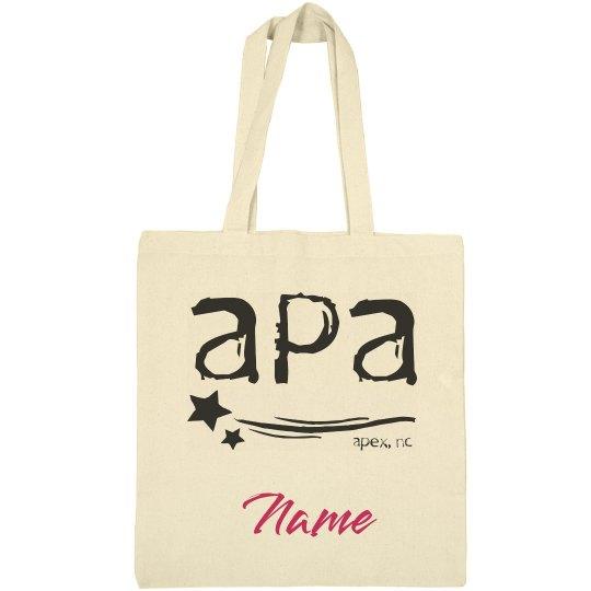 APA Canvas Tote Bag