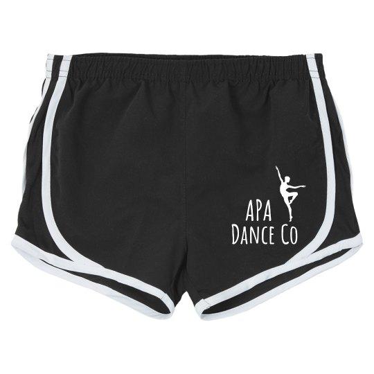 APA dance shorts
