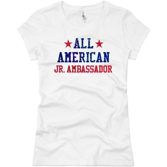 Appearance All American Jr. Ambassador