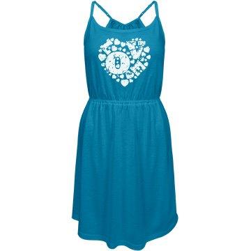 aquamarine love dress