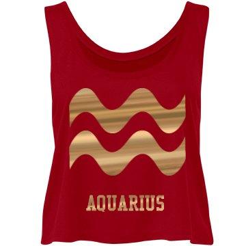 Aquarius Flowy Crop Tank ©