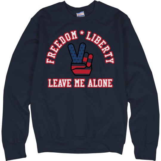 Arched Liberty Sweatshirt