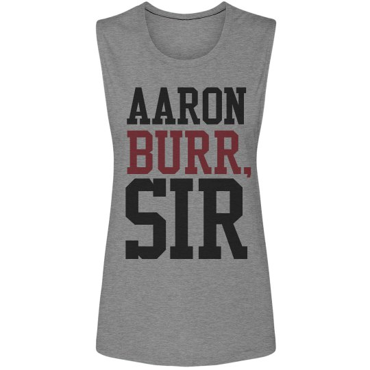 Are you Aaron Burr?