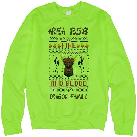 AREA 1358 HOLIDAY SWEATER
