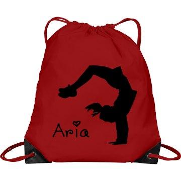 Aria cheerleader bag