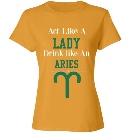 Aries shirt