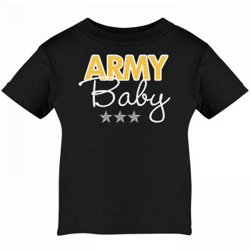 Army Baby Infant Tee