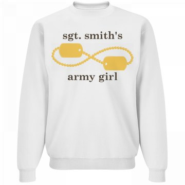 Army Girlfriend Forever