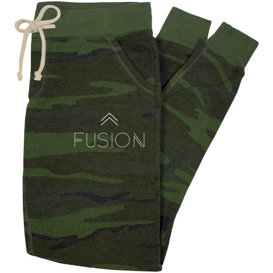 Army Green Slim Fit Sweatpants