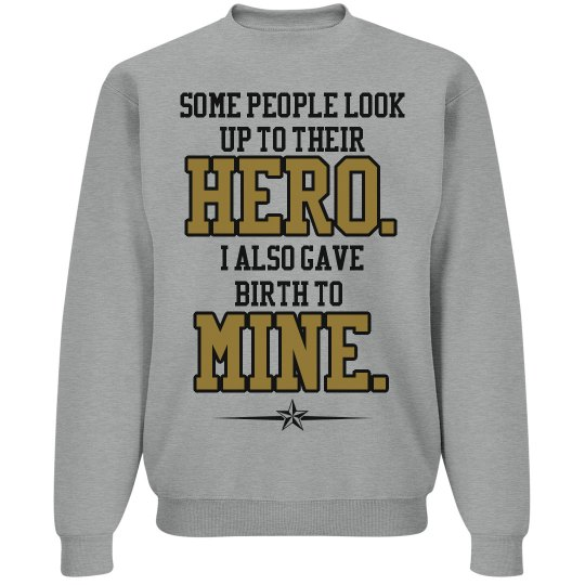 Army Mom Pride Fleece Sweater