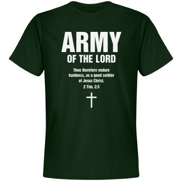 Army of the lord shirt