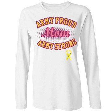 Army Strong Mom Tee