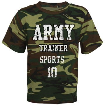 Army trainer t-shirt