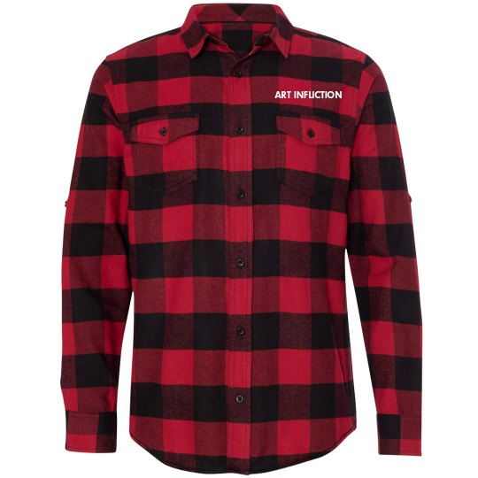 Art Infliction Flannel Shirt